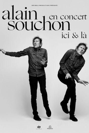 Affiche Alain Souchon Ici et là concert zenith de strasbourg europe