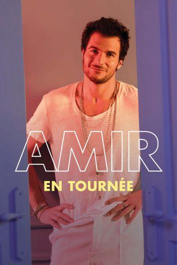 Affiche Amir tournee concert zenith de strasbourg europe