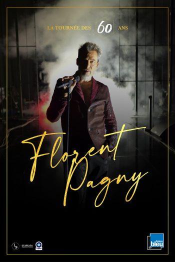 Affiche Florent Pagny la tournée des 60 ans concert zenith de strasbourg europe