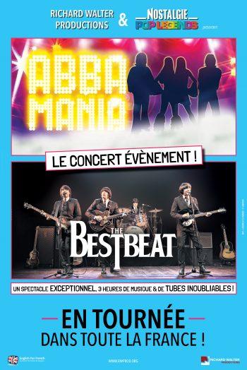 Pop legends Abba Mania The Bestbeat concert tournée zenith de strasbourg europe
