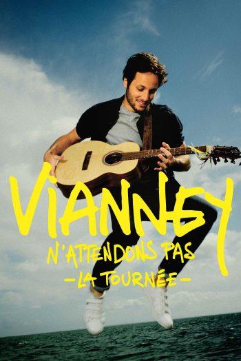 Affiche Vianney n'attendons pas tournée concert zenith de strasbourg europe