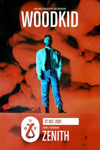 Affiche Woodkid concert zenith de Strasbourg