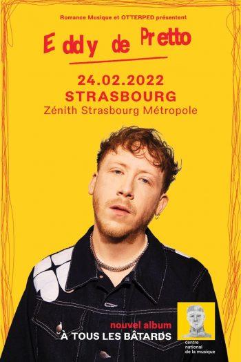 eddy de pretto zénith de strasbourg concert report tournée 2022 bâtards