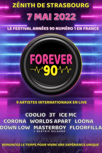 FOREVER 90 concert zénith de strasbourg années 90