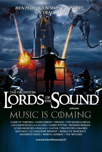 Lords of the sounds affiche spectacle concert Zénith de Strasbourg Europe