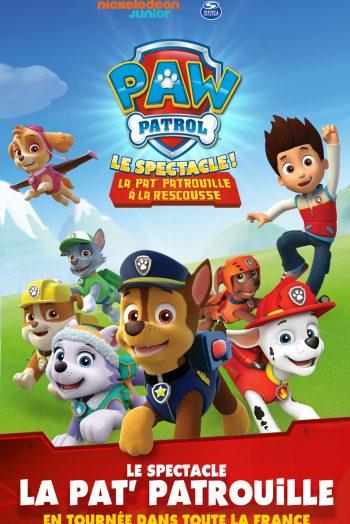 Pat Patrouille spectacle enfants famille Zénith de Strasbourg Europe