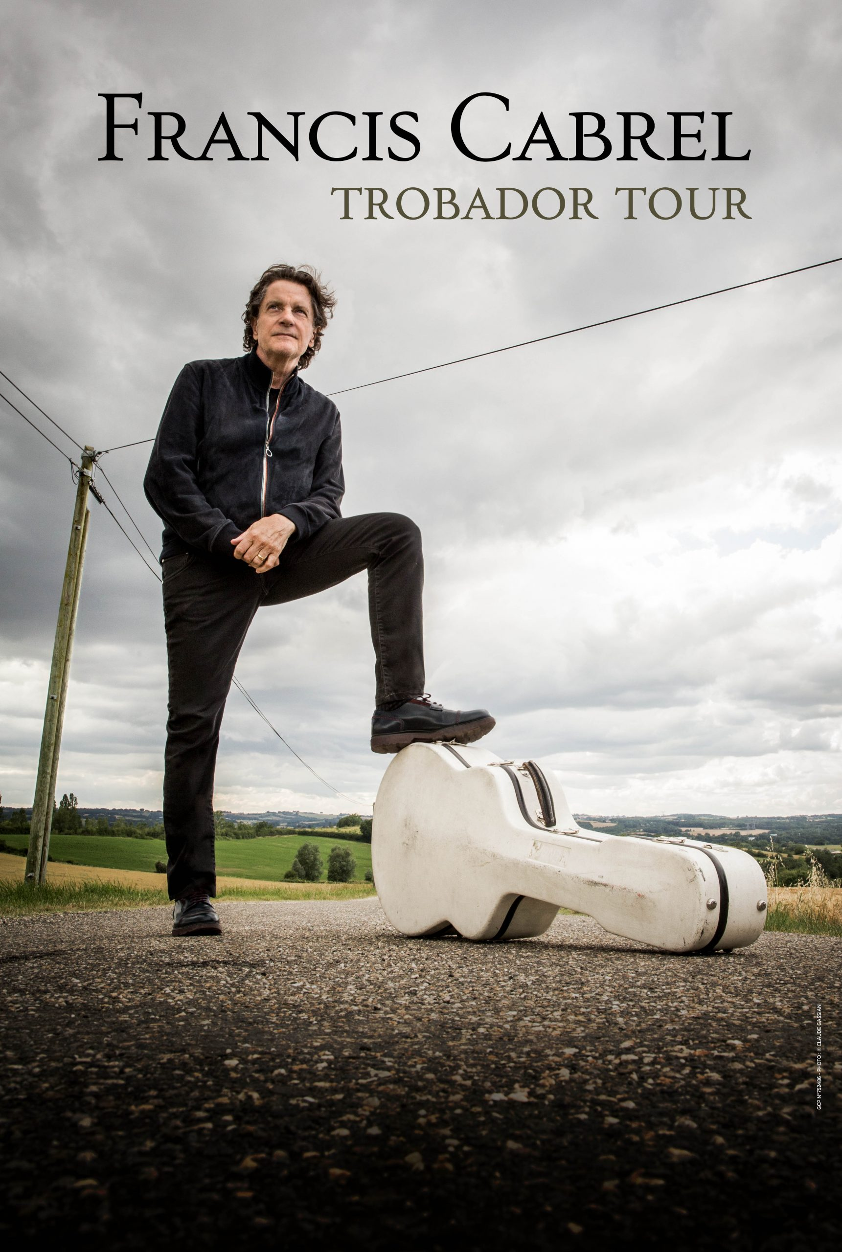 Francis Cabrel tournée concert TROBADOR tour
